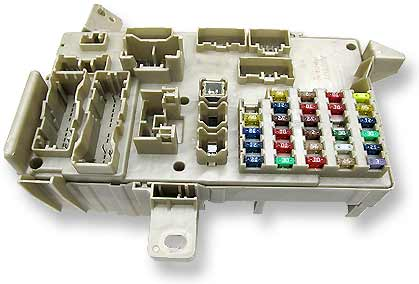 automated inspection of vehicle fuse block assemblies automobile fuse block