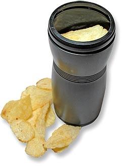 Deep Uv Light And Cameras Used To Inspect Potato Chip