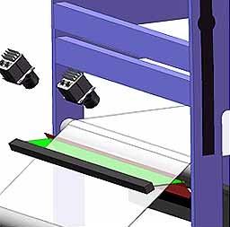 پردازش تصویر با کمک دوبین اسکن خطی