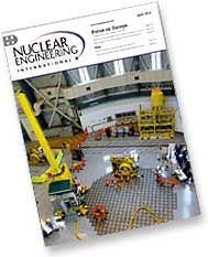 Nuclear Engineering International Magazine cover